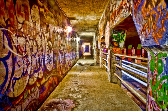 Krog Street Tunnel, photographed by Mark Chandler of Atlanta